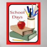 School Days Print
