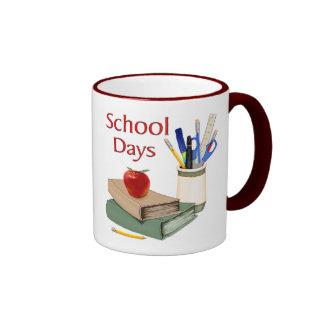 School Days Ringer Coffee Mug