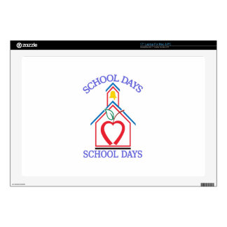 "School Days Skins For 17"" Laptops"
