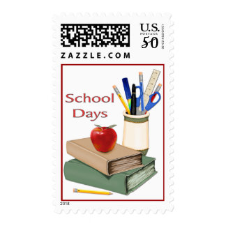 School Days Still Life Postage