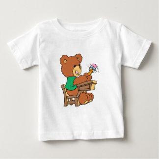 School Days Study Bear Baby T-Shirt
