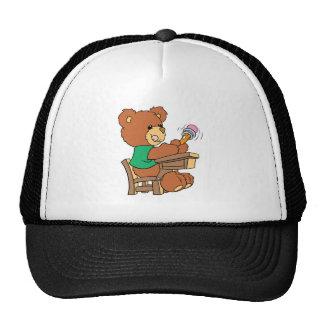 School Days Study Bear Trucker Hat