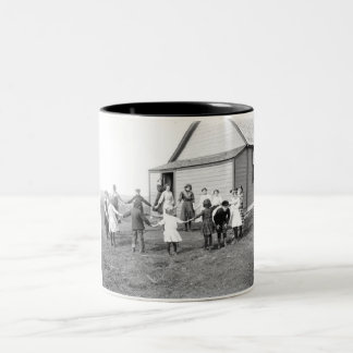 School Days Two-Tone Coffee Mug