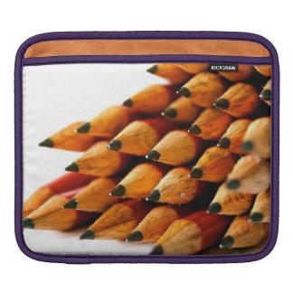 School Days Wooden Pencils iPad Sleeves