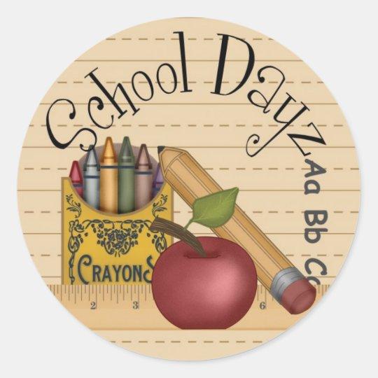 School Dayz Stickers