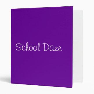 School Daze Binder