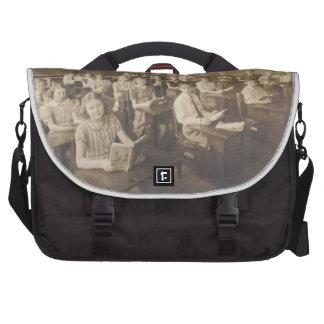 School Daze Laptop Messenger Bag