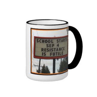 School Daze Ringer Coffee Mug