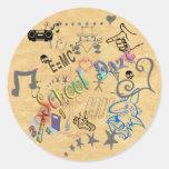 School Daze Sticker