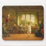 School de la dama, s.and D. 1899 Tapetes De Ratones