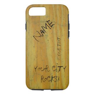 School Desk graffiti iPhone 7 Case