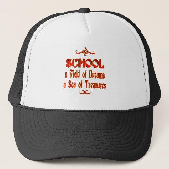 School Dreams and Treasures Trucker Hat