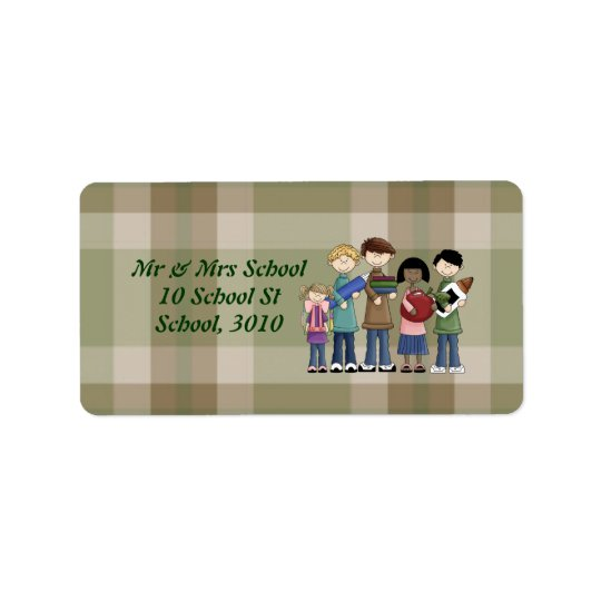 School Essentials Label