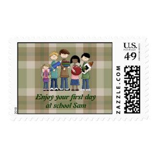 School Essentials Stamp