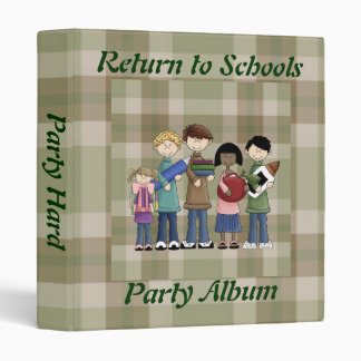 School Essentials Vinyl Binder