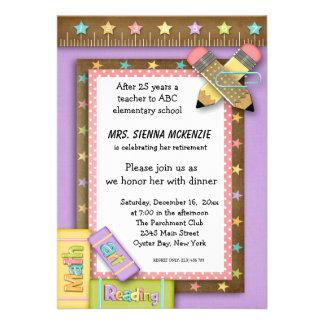 School Event Personalized Invitation