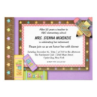 School Event Custom Invitations