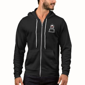 School for Hacker Men's Bella+Canvas Full-Zip Hood Hoodie
