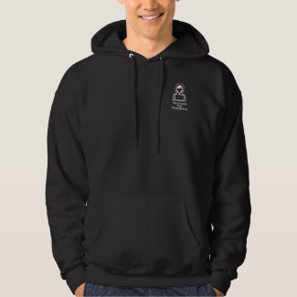 School for Hackers black mens pullover hoodie