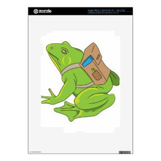 School Frog iPad 3 Skin