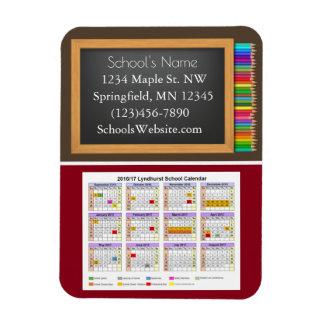 School Fundraising Calendar Pencils Magnet