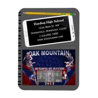 School Fundraising Team Schedule Magnet