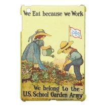 School Garden Army - Case iPad Mini Cover