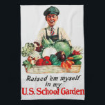 """School Garden Towel<br><div class=""""desc"""">Start your own victory garden... and encourage others to do so.</div>"""