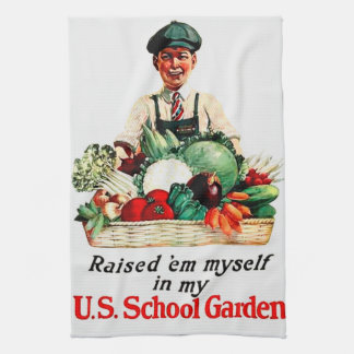 School Garden Towel