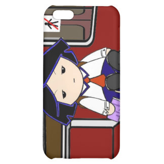 School Girl in Transit Case For iPhone 5C
