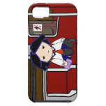 School Girl in Transit iPhone 5 Covers