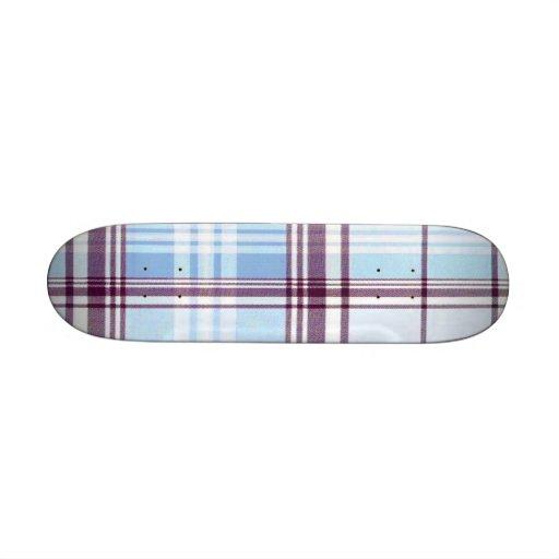 School Girl Plaid Betty Deck Skate Boards