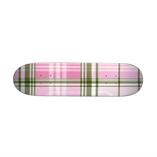 School Girl Plaid Betty Deck Skateboard Deck