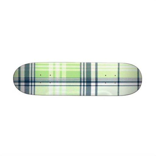 School Girl Plaid Betty Deck Skate Deck