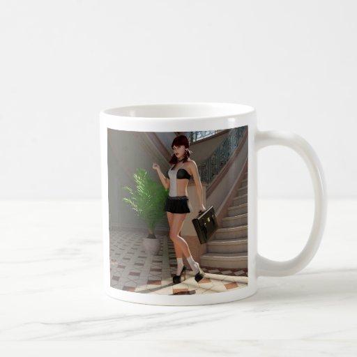 School Girl Willow Coffee Mug