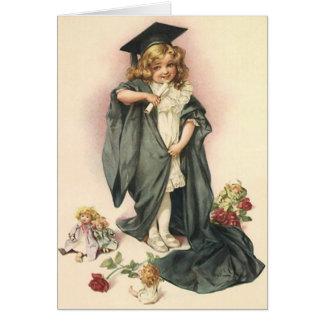 SCHOOL GRADUATION CARD GRADUATE ALL GROWN UP