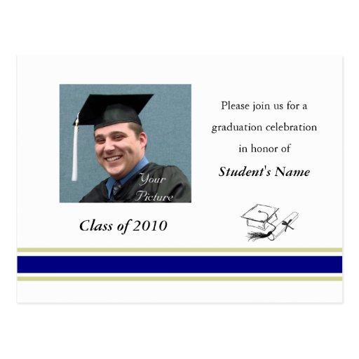 School Graduation Postcard