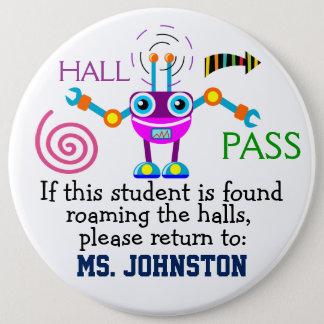 School Hall Pass / Robot - SRF Button