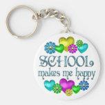 School Happiness Keychains