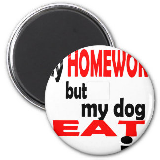 school homework summer quote diligent lazy dog bla magnet