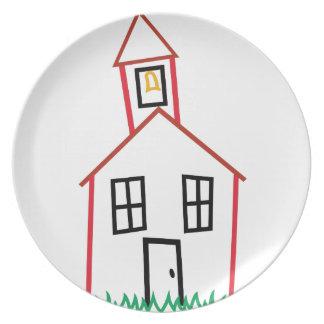 School House Plate