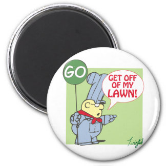 School House Retirement 2 Inch Round Magnet