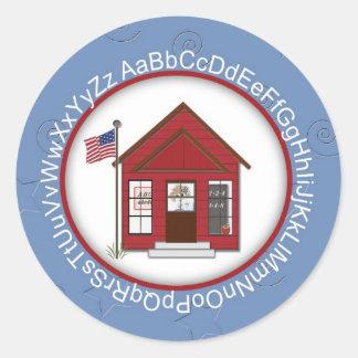 School House Sticker