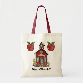 School House Teacher Tote - SRF Tote Bag