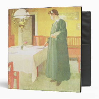 School Household, Dining Room Scene, pub. in 'Lass Binder