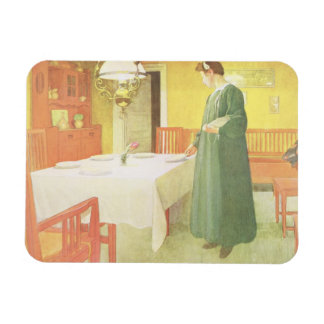 School Household, Dining Room Scene, pub. in 'Lass Magnet
