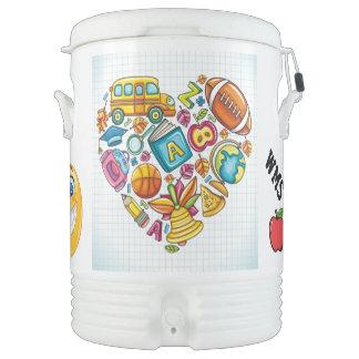 School Igloo Cooler - SRF Igloo Beverage Dispenser