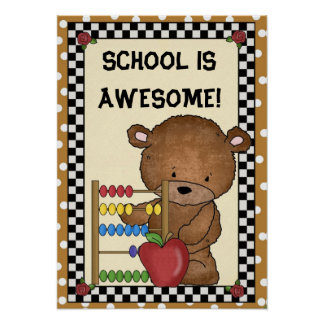 School Is Awesome poster