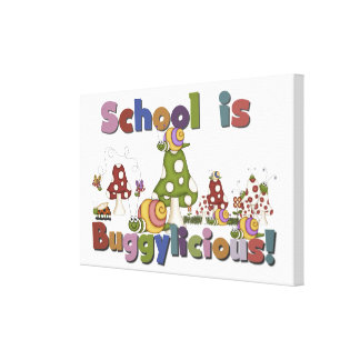 School is Buggylicious Canvas Print
