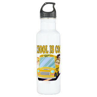 School Is Cool 2 Stainless Steel Water Bottle